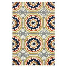 Anchor your patio seating group or define space in the sunroom with this artfully crafted indoor/outdoor rug, showcasing a tiled medallion motif for exotic appeal.    Product: RugConstruction Material: 100% PolypropyleneColor: Multi  Features: Hand-hookedSuitable for indoor and outdoor use  Note: Please be aware that actual colors may vary from those shown on your screen. Accent rugs may also not show the entire pattern that the corresponding area rugs have.Cleaning and Care: Spot ...