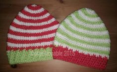 Check out this item in my Etsy shop https://www.etsy.com/uk/listing/256945197/christmas-elf-crochet-hat-babytoddler