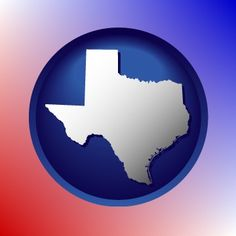 Texas size map icon.