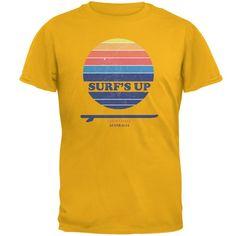 Surf's Up Gold Coast Australia Mens T Shirt