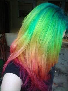 Colored Hair, Conner wants me to do this! haha