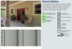 Vertical Vinyl House Siding   Board & Batten Vertical Panel Vinyl Siding