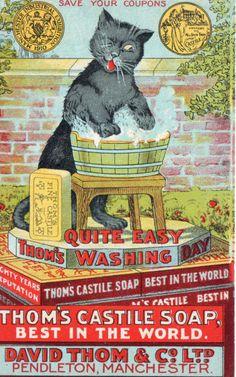 Thom's Castile Soap vintage ad