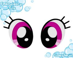 PES FILES: Rainbow Dash Eyes - Embroidery Machine Design by SoapyBacon on Etsy https://www.etsy.com/listing/160630481/pes-files-rainbow-dash-eyes-embroidery
