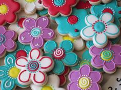 galletas en forma de flor - Buscar con Google