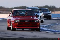 Audi Sport quattro parades around Sebring. Photo by Fourtitude.com