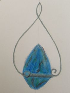 My pendant design. Just waiting for the silver to come
