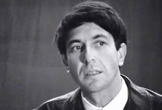 A very young Leonard Cohen