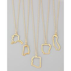 Maya Brenner Designs Maya Brenner Designs 14K Gold Necklace ($415) ❤ liked on Polyvore featuring jewelry, necklaces, alabama, gold pendant necklace, gold pendant, square pendant necklace, yellow gold pendant necklace and gold necklace