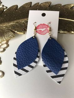 Hey, I found this really awesome Etsy listing at https://www.etsy.com/listing/531716001/double-layer-stripes-leather-earrings