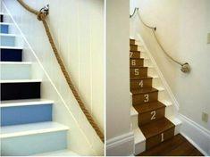 rope railing hallway ideas rope railing rope handrail brackets