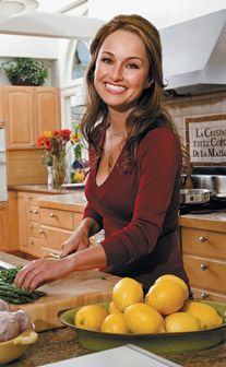 Giada De Laurentiis Beautiful, a role model, and best of all kind. I aspire to one day be like this woman.