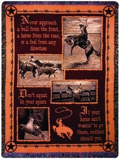 Manual Woodworkers and Weavers Western Décor Collection Tapestry Throw, Saddlebag Quotes, 50 by 60-Inch, http://www.amazon.com/dp/B001TK6IH4/ref=cm_sw_r_pi_awd_x0kysb1JWTNMP
