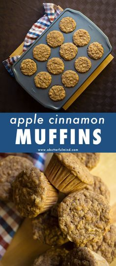 Quick and easy apple cinnamon breakfast muffins to start your day out with the fresh scent of fall. Whole wheat and old fashioned rolled oats make these muffins a great on-the-go morning meal option. Pop them in your kids lunch box! Easy Snacks For Kids, Healthy Meals For Kids, Healthy Breakfast Recipes, Brunch Recipes, Muffin Recipes, Healthy Recipes, Apple Cinnamon Muffins, Cinnamon Apples, Carrot Muffins