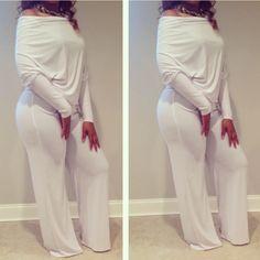 White Jumpsuit available online at www.shopfrau.com