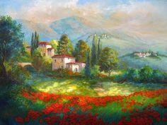 Мир искусства в живописи: Gina Femrite - Пейзажи