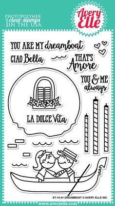 Dreamboat Stamp Set