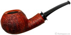 Abe Herbaugh Sandblasted Bent Apple Pipes at Smoking Pipes .com