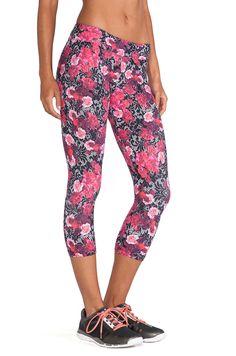 stinkn' cute floral workout capri---eligible for rewards at StuffDOT!  #dotshopsave