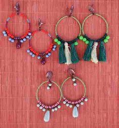 Maxibrinco Argola Miçanga Biju Navajo Gipsy Boho Atacado