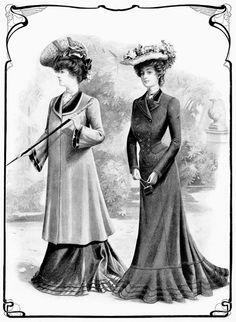 Old Design Shop - Fashion Oct 1902