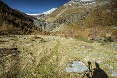 Langzeitbelichtung Alpe Palü im Puschlav, Graubünden