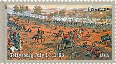 The U.S. Postal Service is issuing a commemorative stamp for the anniversary of the Battle of Gettysburg.