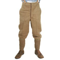 Service Dress trousers and puttees, worn by Frederick Bishop (battlefield 1) reference picture