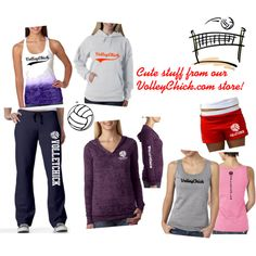 VolleyChick Store Stuff - Polyvore