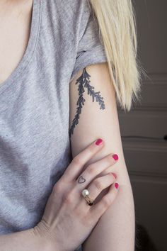 Rosemary tattoo