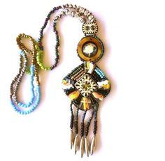 Collar Etnico Hippie Boho Chic Bisuteria