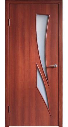 """Sagittarius"" - Walnut Modern Interior Door"