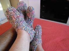sapatinho de lã adultos