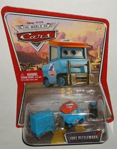 Mattel Disney Pixar The World Of Cars Luke Pettlework NIP Die Cast