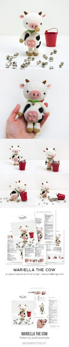 Mariella The Cow Amigurumi Pattern