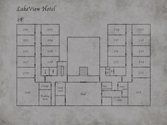 silent hill 2 lakeview hotel map