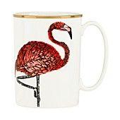 kate spade new york Zoo Drive Mug, Flamingo