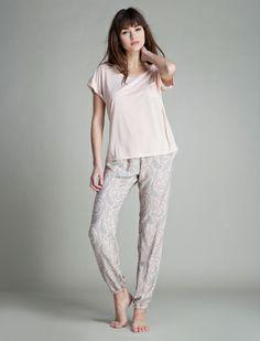 women'secret   Very feminine   Boho chic   Long viscose pyjama