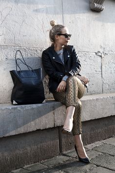 Gold rush | This chick's got style great blog