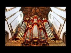 This is beautiful!!!  ~~  JS Bach on 1738 Mueller Organ in St Bavo Church at Haarlem