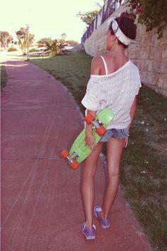 妳也可以如此帥氣自由奔馳,就當個不受束縛的滑板女孩吧! - PopDaily 波波黛莉的異想世界