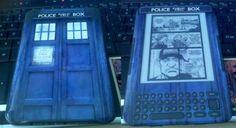 TARDIS skin for Kindle