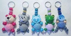 Little Monster Schlüsselanhänger - handgefertigte und personalisierte Unikate für GROSS und klein