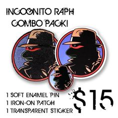 #Repost @duncanartworks  NEW Incognito Raph Combo Pack!  Only 12 available. .$15 shop link in our bio. 1 patch 1 pin 1 transparent sticker . #pingame #patchgame #pingamestrong #pin #pins #pinstagram #pinsofinstagram #pincollector #pinaddict #pinspinspins #enamelpins #enamelpin #softenamel #lapelpins #lapelpin #raphael #tmnt #ninjaturtles #nostalgic #90skid #teenagemutantninjaturtles #dicktracy    (Posted by https://bbllowwnn.com/) Tap the photo for purchase info. Follow @bbllowwnn on…