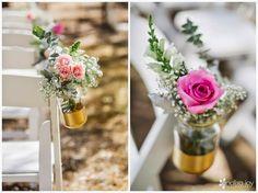 Wallflower Inspiration// Kelsey and Rob Rustic Barnyard Chic wedding Photo Cred: Analisa Joy Photography