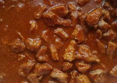 Sertéspörkölt titkokra szedve recept foto Goulash, Chana Masala, Stew, Grilling, Pork, Meat, Vegetables, Cooking, Ethnic Recipes