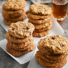 Whole wheat flour is often put aside when it comes to cookies, but when paired with nutty peanut butter, the results are a perfect balance Peanut Butter Cookie Recipe, Cookie Recipes, Healthy Baking, Healthy Snacks, All Bran, Chicken Marinade Recipes, Yogurt Breakfast, Yogurt And Granola, Healthy Banana Bread