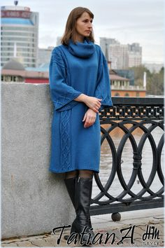 Knit Patterns, Knit Dress, Knitwear, Cashmere, Knitting, Sweaters, How To Wear, Dresses, Fashion
