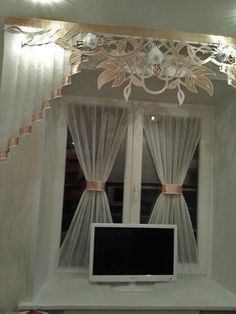 (51) Одноклассники Curtains And Draperies, Luxury Curtains, Home Curtains, Window Curtains, Valances, Curtain Holder, House Blinds, Kitchen Window Treatments, Beautiful Curtains