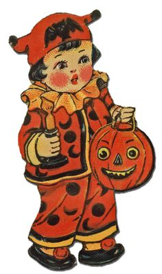papers.quenalbertini: Vintage Halloween image